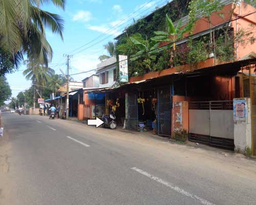 houses and shops sale near Chackai trivandrum kerala real estate