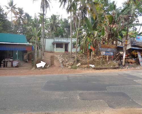land with used house sale at Venjaramoodu trivandrum kerala real estate