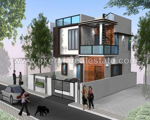 newly built villas sale at mukkola mannanthala st thomas school