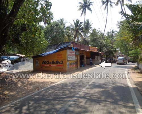 used house and shop for sale in Anchuthengu trivandrum kerala real estate