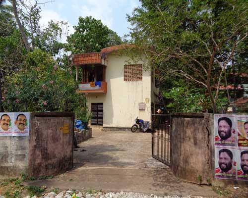 varkala real estate Mundayil Varkala land with house for sale