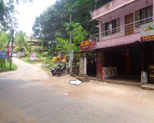 shop with used house sale at aruvikkara trivandrum kerala real estate