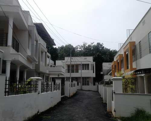Mukkola Trivandrum New villas Rows for sale at Mukkola Real estate