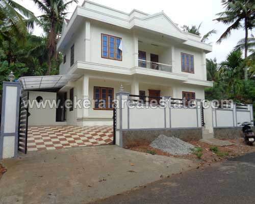 Kerala Thiruvananthapuram real estate Residential House at Enikkara near karakulam
