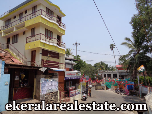 commercial building for sale at Thamalam Poojappura real estate properties kerala Thamalam Poojappura
