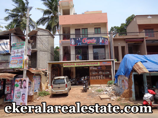 900 sq.ft main road frontage building for sale at Kunnapuzha Tirumala Trivandrum kerala real estate properties Kunnapuzha Tirumala Trivandrum