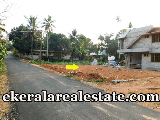 below 6 lakhs per cent house plot for sale at Mangattukadavu Thirumala Trivandrum Thirumala real estate properties sale