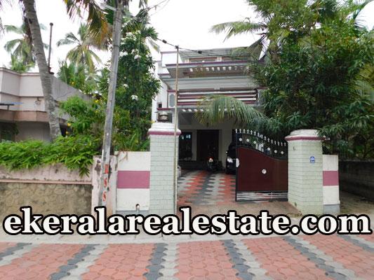land and used house for sale at Kamaleswaram Manacaud Trivandrum Manacaud real estate propertie sale