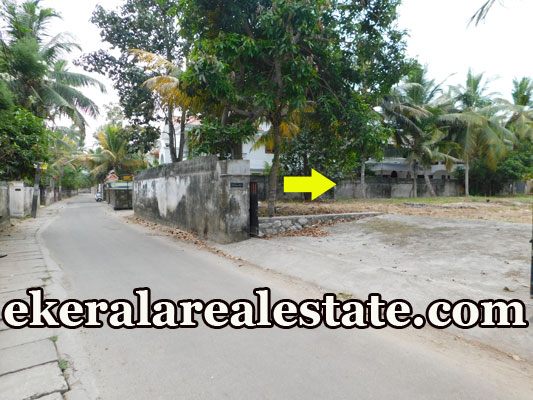 tar road frontage house plot for sale at Pettah Anayara trivandrum real estate properties sale