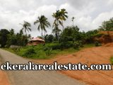 Road frontage land sale in Sreekariyam