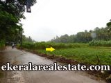 Road frontage land plot sale in Thirumala