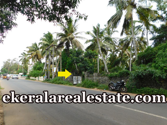 Tar road frontage land sale in  Kovalam