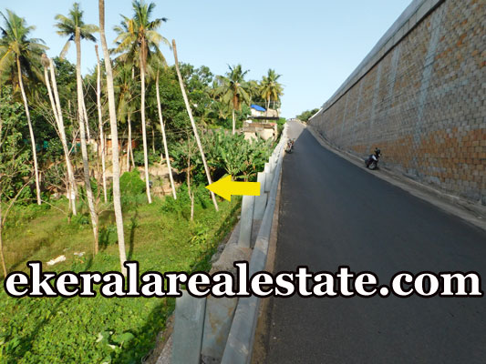Road frontage land plot sale in  kovalam