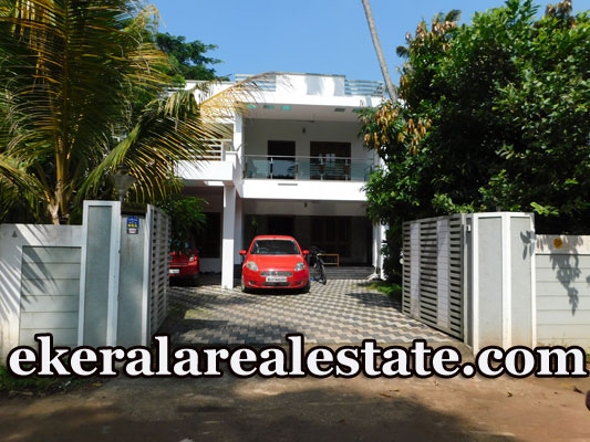 9 cents land and 4 bhk big house sale in Thiruvallam