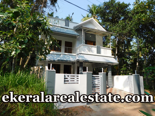 Newly Built  House Sale at Vandithadam Thiruvallam
