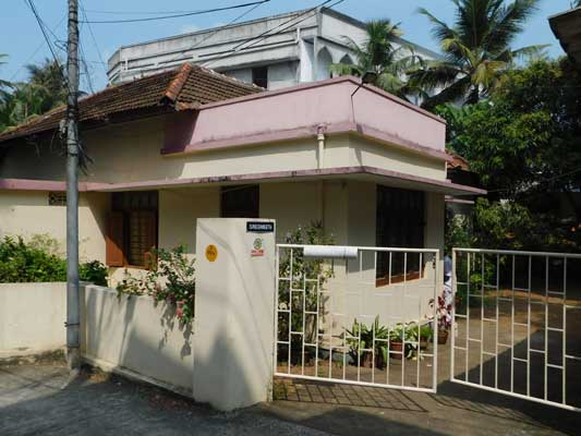 Sasthamangalam 12 cents land and house for sale 23 lakhs per cent